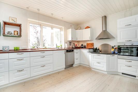 Villa på Teglovnsvej i Ringsted - Køkken