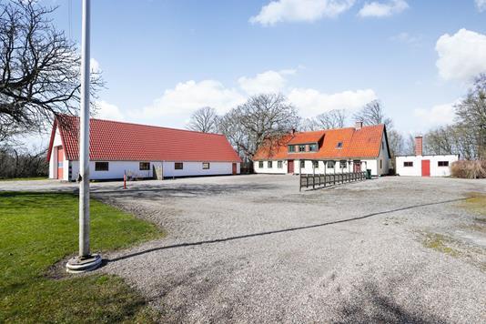 Landejendom på Tyvelsevej i Glumsø - Ejendommen