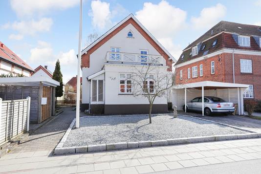 Villa på Valdemarsgade i Ringsted - Ejendommen