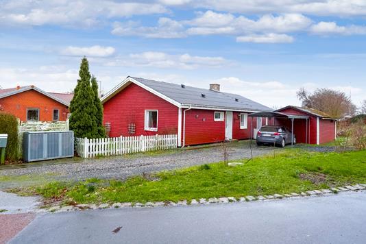 Villa på Ørslev Stationsvej i Ringsted - Ejendommen