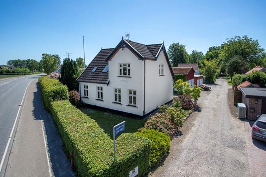 Villa på Haslevvej i Ringsted - Ejendommen