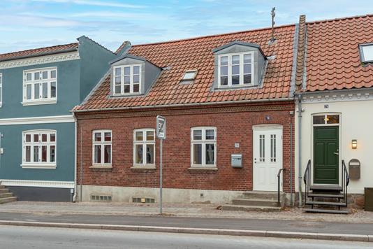 Rækkehus på Dagmarsgade i Ringsted - Ejendommen
