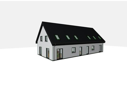 Villa på Nøddehaven i Valby - Facade