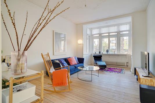 Ejerlejlighed på Åboulevard i København N - Stue