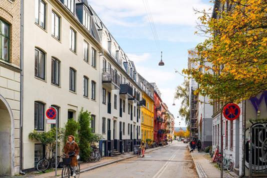 Ejerlejlighed på Sankt Hans Gade i København N - Ejendommen