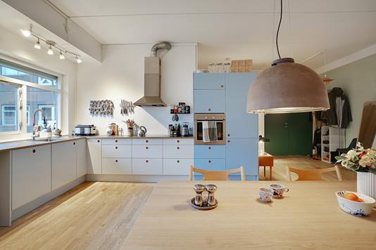 Ejerlejlighed på Thoravej i København NV - Køkken