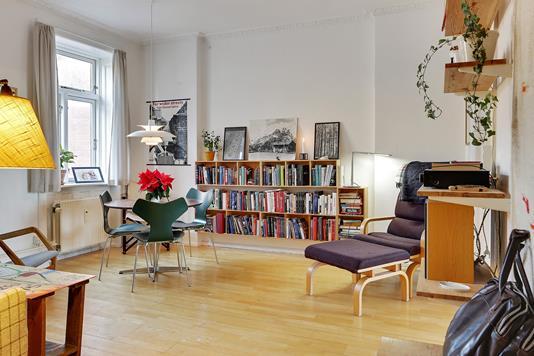Ejerlejlighed på Rådmandsgade i København N - Stue