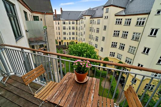 Ejerlejlighed på Jagtvej i København N - Altan