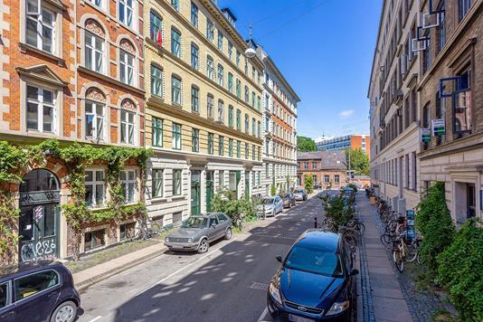 Ejerlejlighed på Peter Fabers Gade i København N - Facade