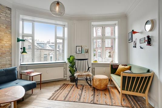 Ejerlejlighed på Baldersgade i København N - Stue
