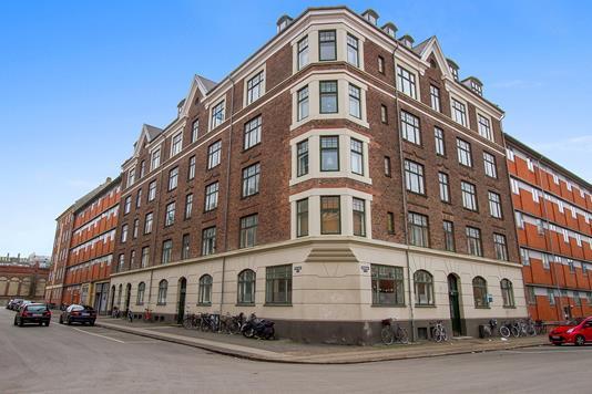 Ejerlejlighed på Fenrisgade i København N - Facade