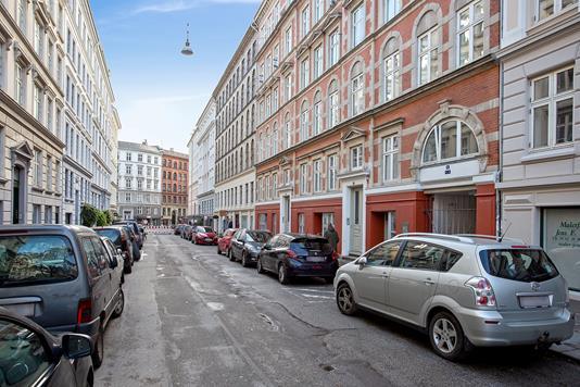 Ejerlejlighed på Birkegade i København N - Facade