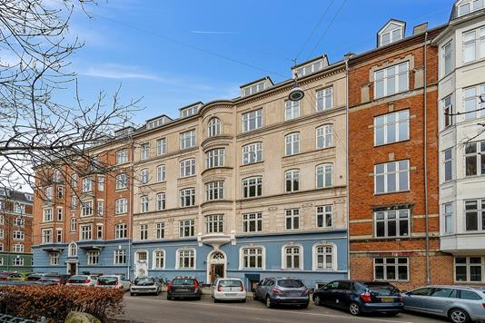 Ejerlejlighed på Julius Bloms Gade i København N - Facade