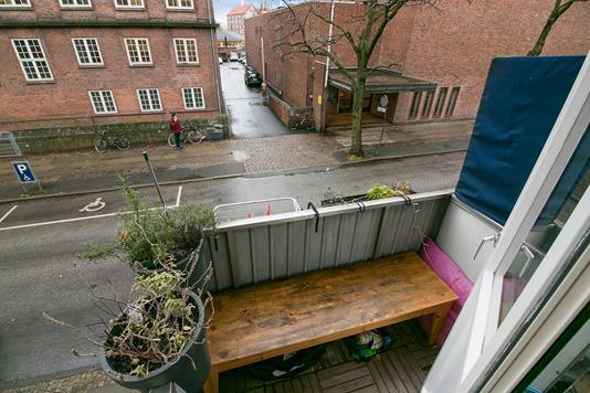Ejerlejlighed på Sandbjerggade i København N - Udsigt