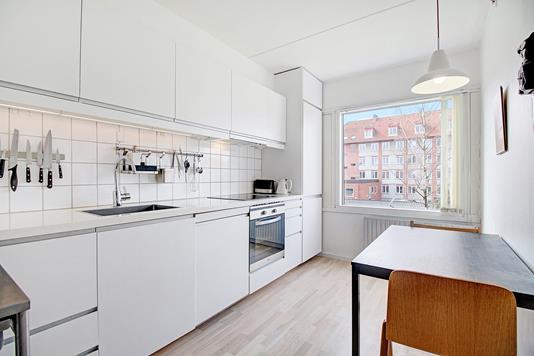 Ejerlejlighed på Banebrinken i København NV - Køkken
