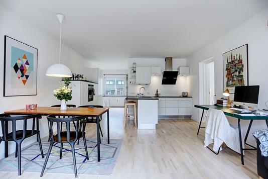Ejerlejlighed på Bergthorasgade i København S - Køkken