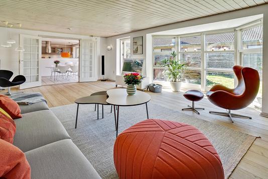 Villa på Åstrupgårdsvej i Hvidovre - Stue