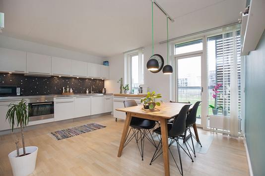 Ejerlejlighed på Edvard Thomsens Vej i København S - Køkken
