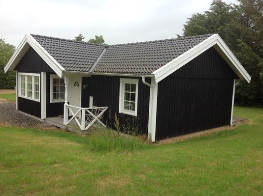Fritidsbolig på Kværnen i Bogø By - Facade
