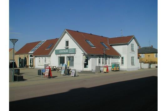Villa på Byrum Hovedgade i Læsø - Facade