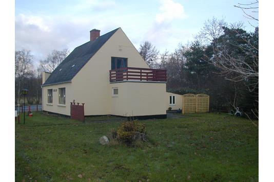 Villa på Østerbyvejen i Læsø - Facade