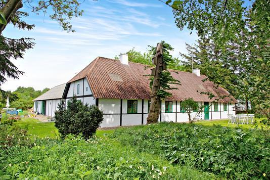 Villa på Gårdenes Vej i Læsø - Ejendommen