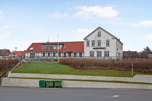 Villa på Havnebakken i Læsø - Facade erhverv