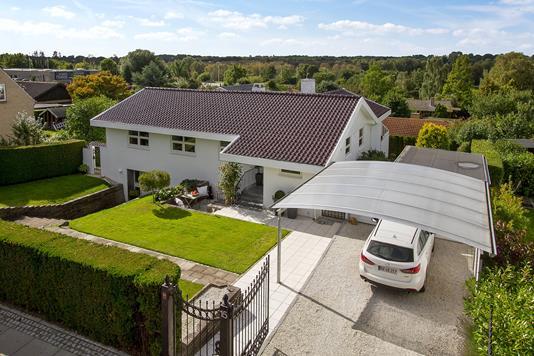 Villa på Stenhøjgårdsvej i Birkerød - Facade