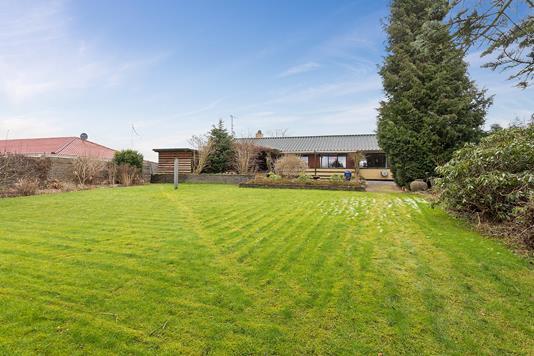 Villa på Stenhøj Vænge i Birkerød - Set fra haven