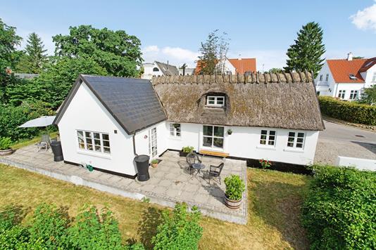 Villa på Bregnerødvej i Birkerød - Mastefoto