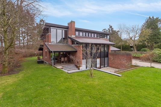 Villa på Soldraget i Birkerød - Set fra haven