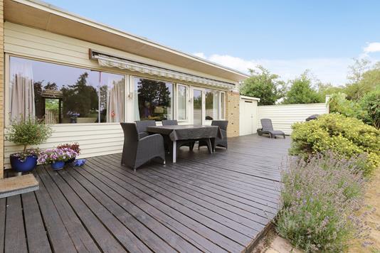 Villa på Skovgårdskrogen i Birkerød - Terrasse