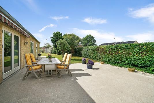 Villa på Birkerød Kongevej i Birkerød - Terrasse