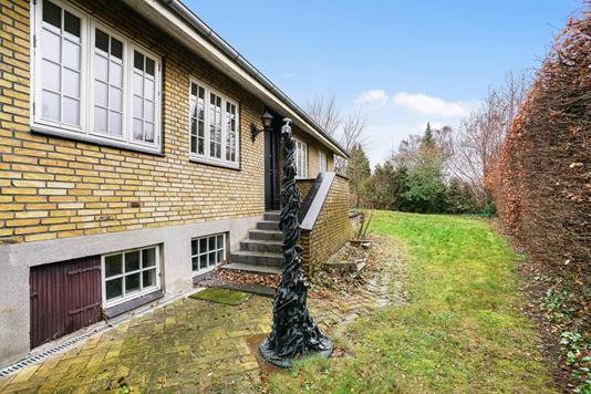 Villa på Lillevang i Birkerød - Have