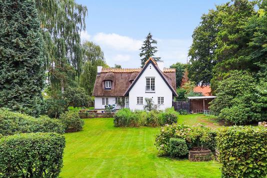 Villa på Kajerødvej i Birkerød - Mastefoto