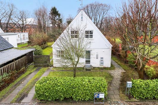 Villa på Tværvej i Birkerød - Mastefoto