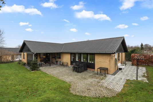 Villa på Stenhøjgårdsvej i Birkerød - Terrasse
