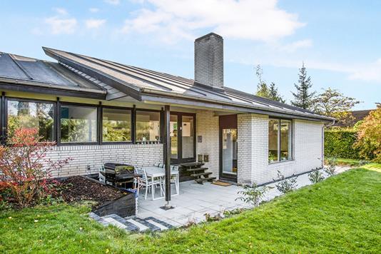 Villa på Traneholmen i Birkerød - Ejendommen