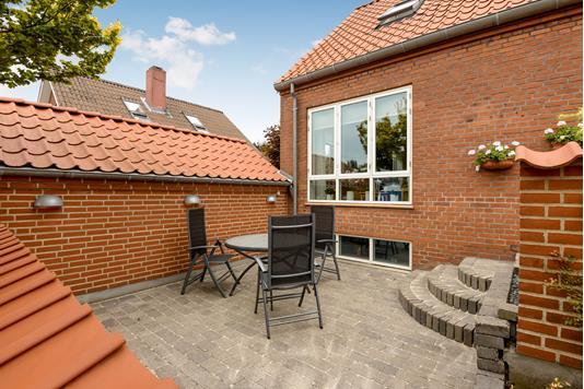 Villa på Gl Næssevej i Horsens - Terrasse