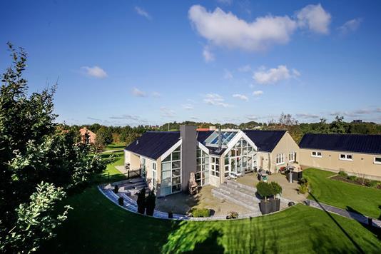Villa på Aksel Nielsens Vej i Stouby - Mastefoto