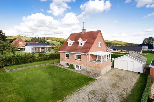 Villa på Bjerrevej i Hornsyld - Mastefoto
