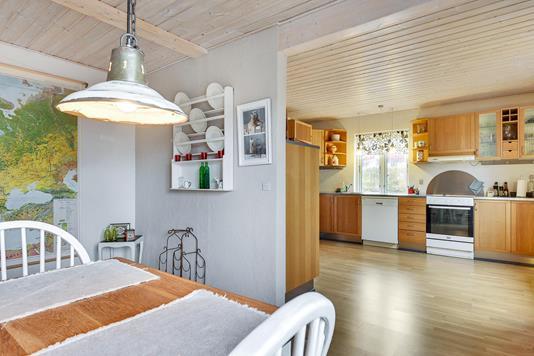 Villa på Nylandsvej i Hovedgård - Køkken