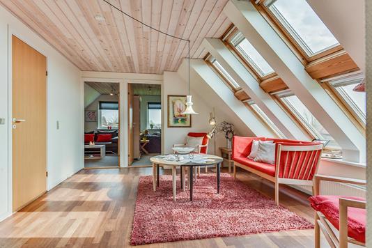 Villa på Byvangen i Horsens - Stue