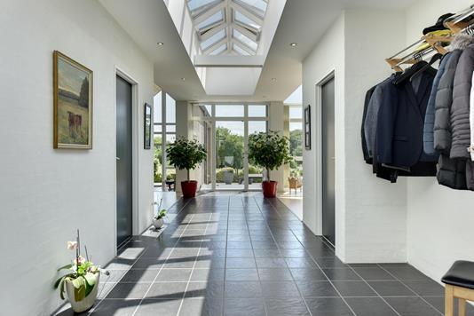 Villa på Lerskrænten i Horsens - Entré