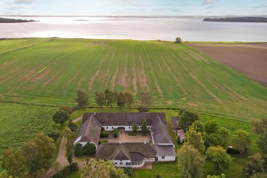 Villa på Havmarken i Horsens - Luftfoto