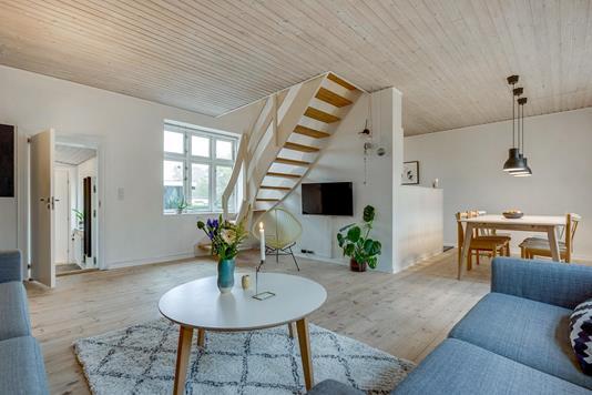 Villa på Priorsløkkevej i Horsens - Stue