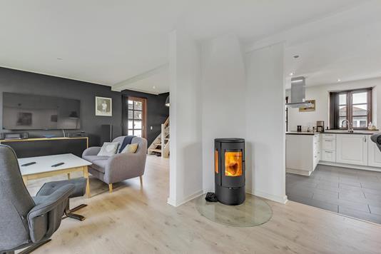 Villa på Langgade i Horsens - Opholdsstue