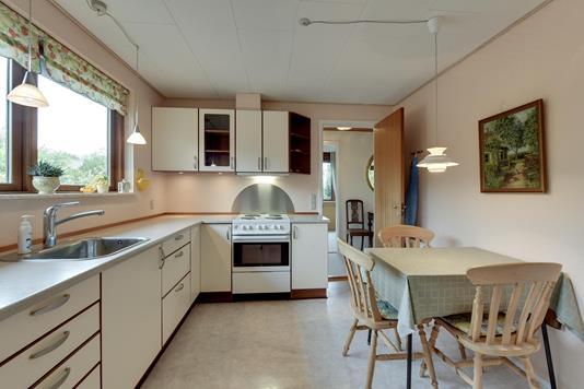 Villa på Søndervænget i Hovedgård - Køkken