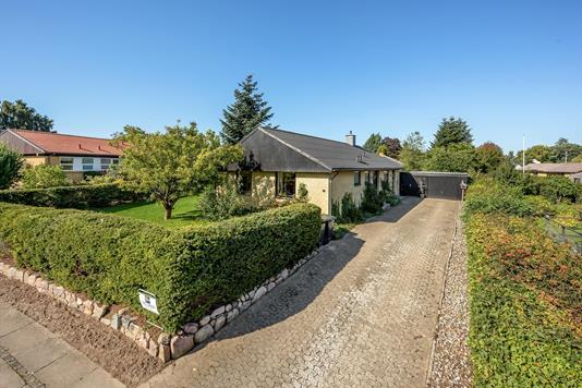 Villa på Hasselvej i Gedved - Ejendommen