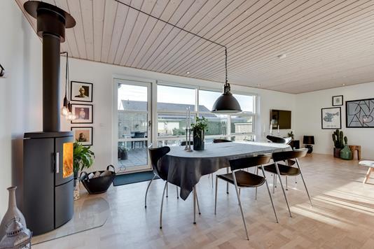 Villa på Beringsvej i Horsens - Stue